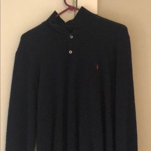 Polo by Ralph Lauren blue long sleeve shirt XL